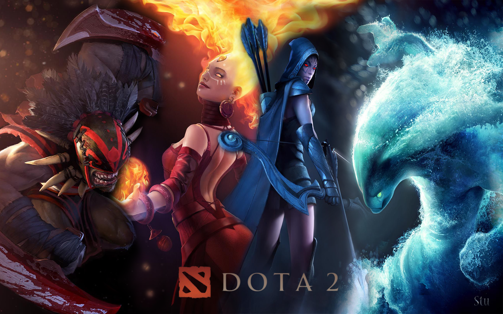 Dota 2: The Path To Nibelheim